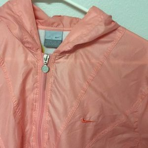 Pink Vintage Nike Windbreaker